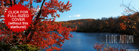 I Love Autumn Facebook Cover