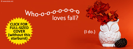 Fall Owl - Who Loves Fall? Facebook Cover