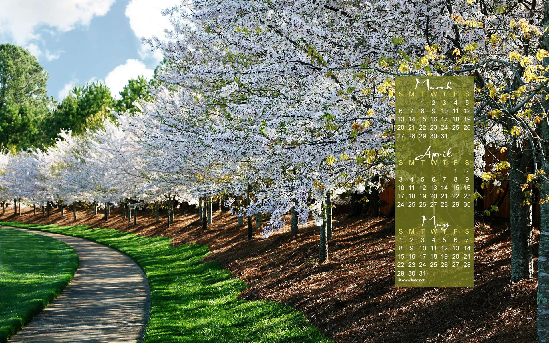 April Calendar Screensaver : April calendar wallpaper