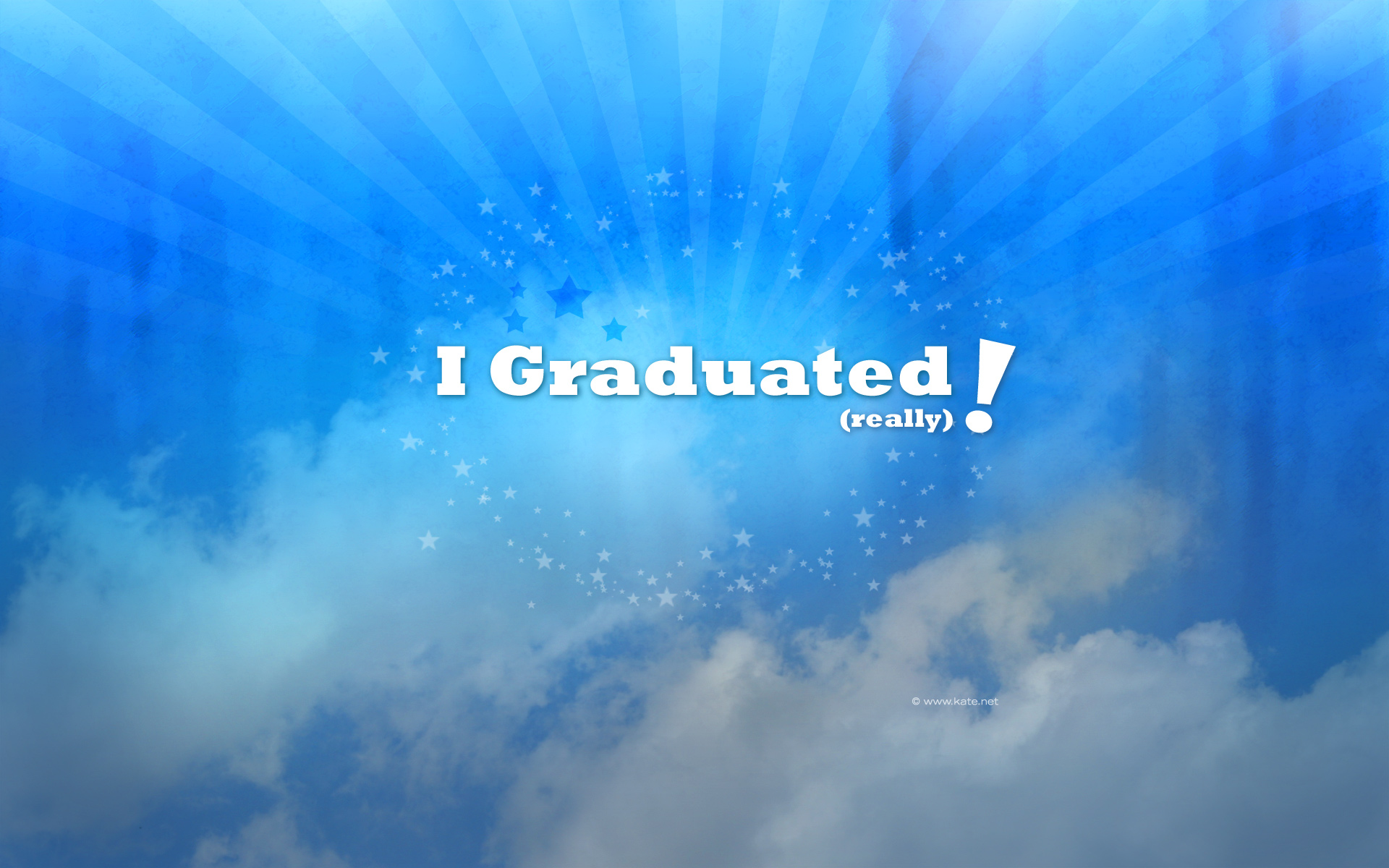 Graduation Wallpapers by Kate