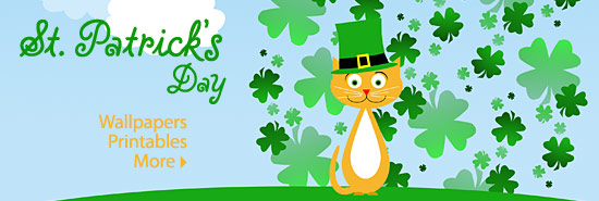 St. Patrick's Day Wallpapers and Printables