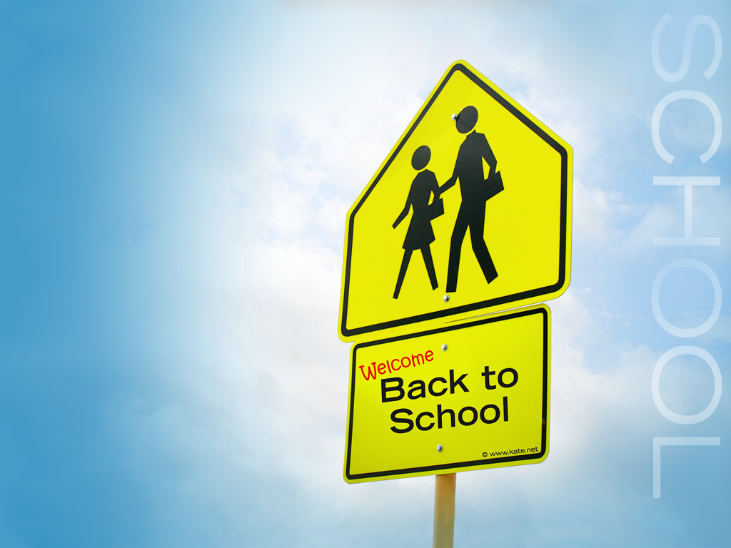 back to school background - photo #15
